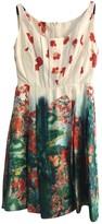 Erdem Green Silk Dress for Women