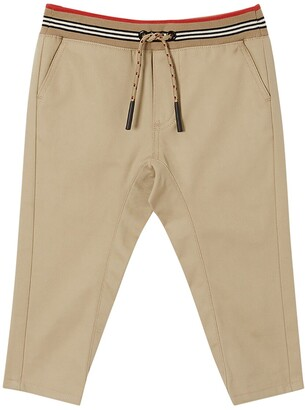 Burberry Cotton Gabardine Pants