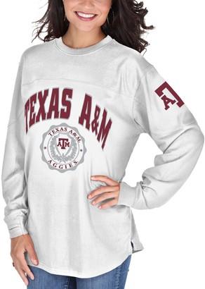 Women's White Texas A&M Aggies Edith Long Sleeve T-Shirt