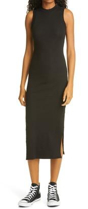 NSF Sherry Sleeveless Stretch Cotton Midi Dress