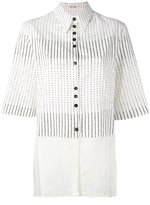 Damir Doma patterned blouse - women - Cotton/Cupro - S