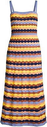 M Missoni Sleeveless Knit Maxi Dress