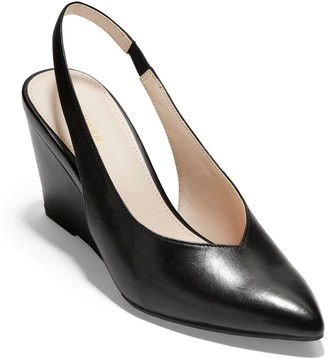 Cole Haan Elnora Slingback Wedge Pump