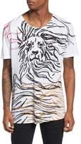 Antony Morato Lion Graphic T-Shirt