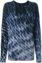 Raquel Allegra tie-dye jumper