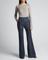 Gabriela Hearst Margaret Cashmere-Silk Top