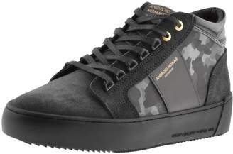 Android Propulsion Suede Mid Trainers Black
