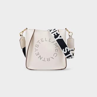 Stella McCartney Handbag Mini Crossbody In White Synthetic Leather
