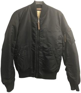 Alpha Industries Black Linen Jackets