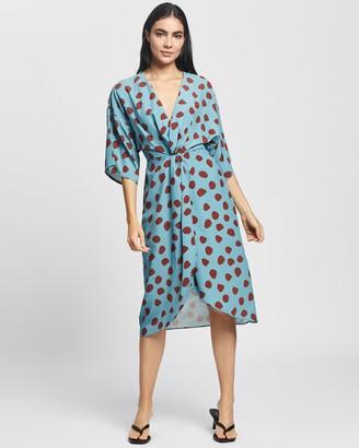 Glamorous Twist Front Dress