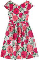 Cath Kidston Peony Spot Cotton Sateen Dress