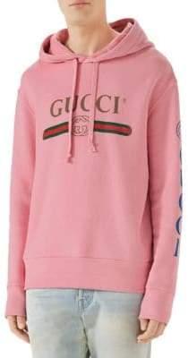 Gucci Hooded Dragon Graphic Sweatshirt
