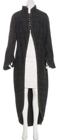 Chanel Wool Bouclé Coat