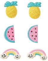 Gymboree Fruit Earrings 3-Pack