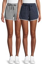 Athletic Works Women's Athleisure Gym Shorts 2 Pack