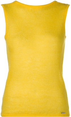 DSQUARED2 Crew Neck Knitted Vest