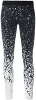 Reebok brushes print leggings - women - Polyester/Spandex/Elastane - M