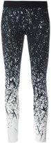 Reebok brushes print leggings - women - Polyester/Spandex/Elastane - S