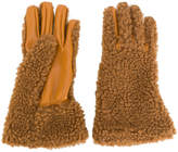 Stella McCartney panelled gloves