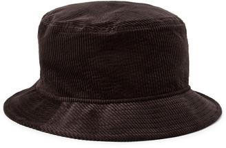 Acne Studios Logo-Embroidered Stretch Cotton-Corduroy Bucket Hat