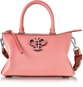 Emilio Pucci Shell Pink Leather Boston Bag