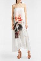 Paul & Joe Floral-Print Tiered Bandeau Dress