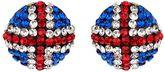 Mikey Daisy flower crystal tie bracelet
