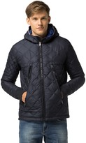 Tommy Hilfiger Hooded Diamond Quilt Jacket