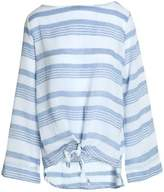 Kain Label Knotted Striped Cotton-Gauze Top