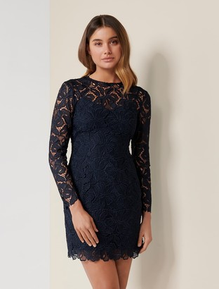 Ever New Annabelle Petite Lace Mini Dress