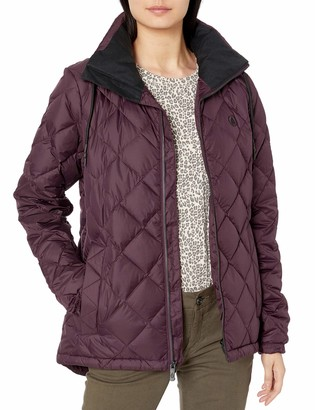 Volcom Women's Skies Down Puff Lined Snow Jacket