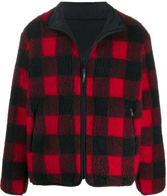 John Elliott Buffalo check fleece jacket