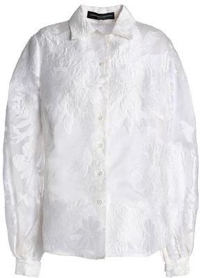 Carolina Herrera Fil Coupe Shirt