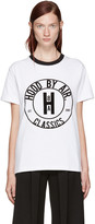 Hood by Air White Cookie Ringer T-Shirt
