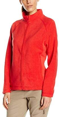 Fruit of the Loom Women's Zip front Fleece,18 (Manufacturer Size:)