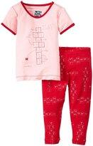 Kickee Pants Print Pajama Set (Baby) - Balloon Hopscotch-0-3 Months
