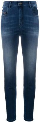 Diesel Slim Stonewashed Jeans