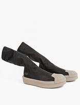 Adidas By Rick Owens Black Mastodon Superstar Stretch Boot