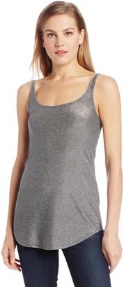 Only Hearts Women's Metallic Jersey Shirt Tail Tank