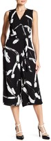 Donna Ricco Printed Jumpsuit