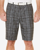 PGA TOUR Heathered Plaid Shorts