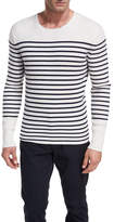 Vince Striped Cashmere Crewneck Sweater