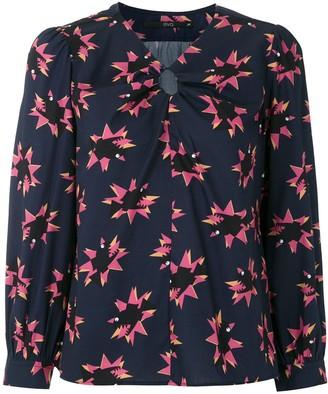 Eva Peixe printed blouse
