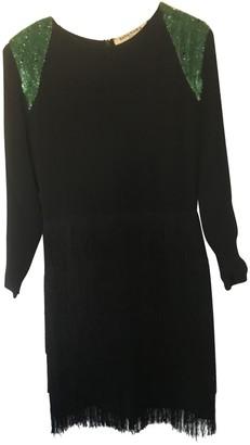 Tata-Naka Black Silk Dress for Women