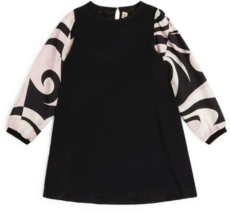 Emilio Pucci Junior Heliconia Long-Sleeve Dress (4-14 Years)