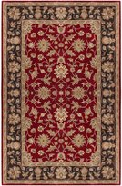 Surya CRN6013 Crowne Classic Hand Tufted 100% Wool Red Rug (10-Feet x 14-Feet )