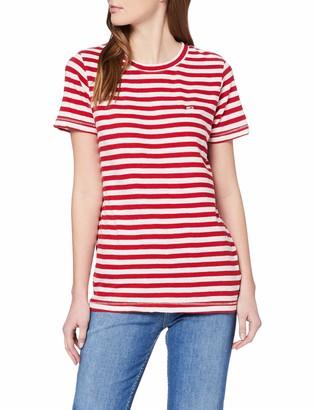 Tommy Jeans Women's Tjw Textured Stripe Tee T-Shirt