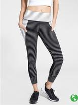 Athleta Stripe Relay Capri 2.0