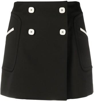 VIVETTA Double-Breasted Skirt