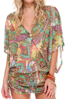 Luli Fama Cabana V-Neck Dress In Multicolor (L511976)